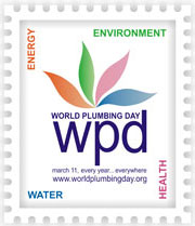 World Plumbing Day logo